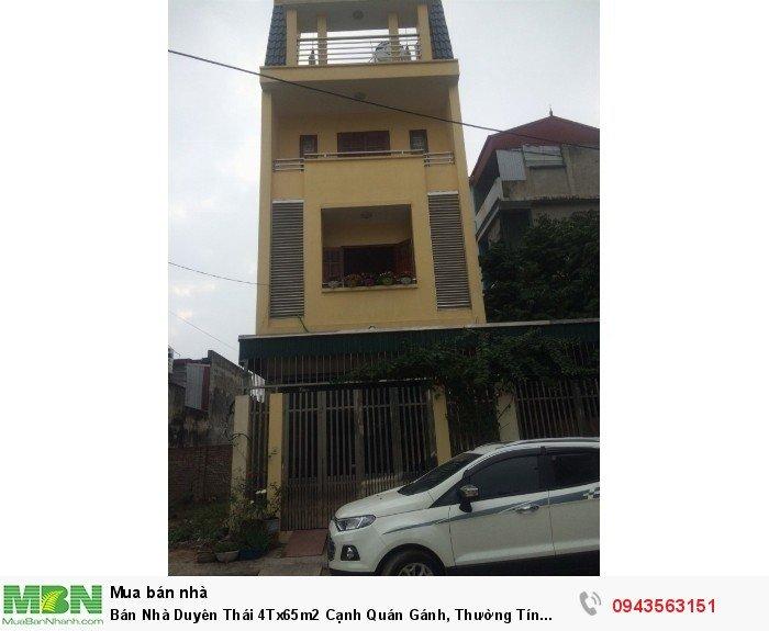 Bán Nhà Duyên Thái 4Tx65m2 Cạnh Quán Gánh, Thường Tín