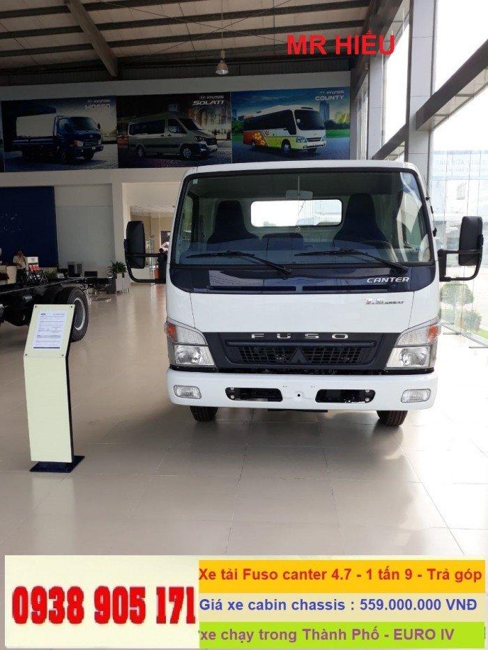 Xe tải thaco Fuso Canter 4.5 tấn, xe tải nhật bản Mitsubishi fuso, giá xe fuso rẻ nhất 7