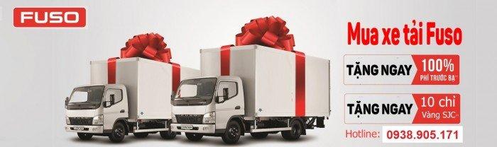 Xe tải thaco Fuso Canter 4.5 tấn, xe tải nhật bản Mitsubishi fuso, giá xe fuso rẻ nhất 4