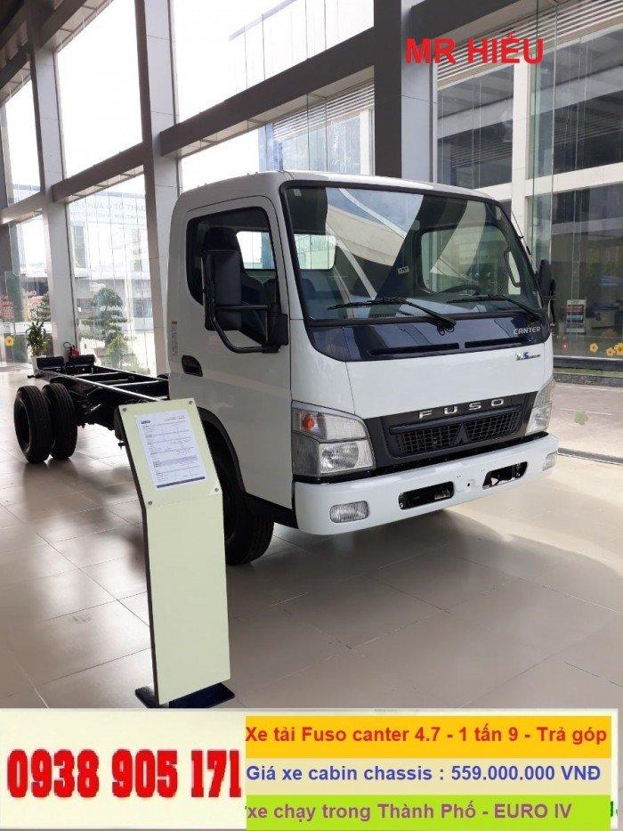 Xe tải thaco Fuso Canter 4.5 tấn, xe tải nhật bản Mitsubishi fuso, giá xe fuso rẻ nhất