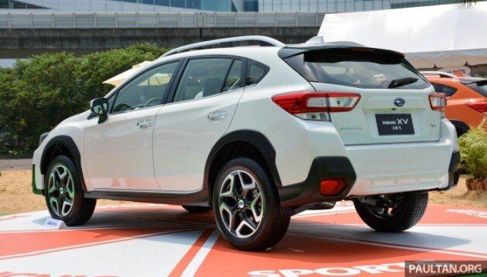Hãy là người sở hữu đầu tiên dòng xe XV 2018 với thiết kế eyesight và khung gầm mới 4