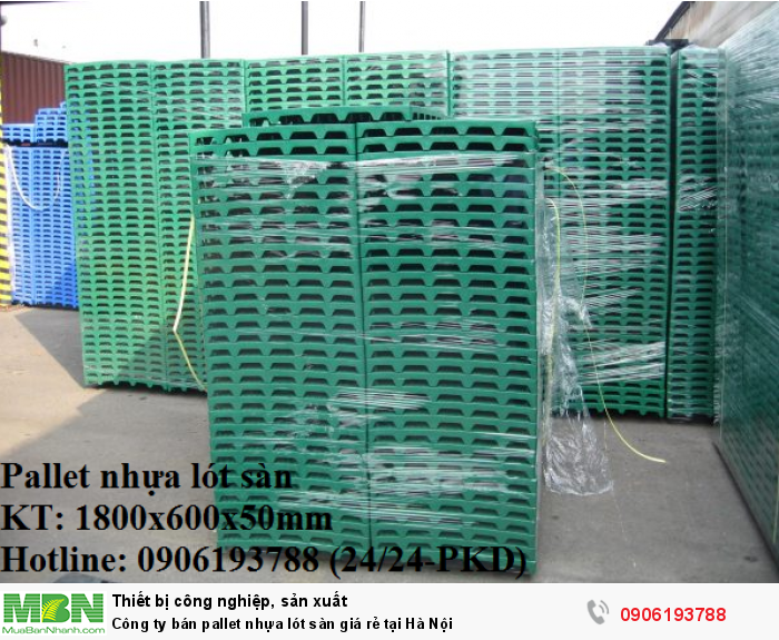 Công ty bán pallet nhựa lót sàn giá rẻ tại Hà Nội - Cam kết chất lượng Vàng4