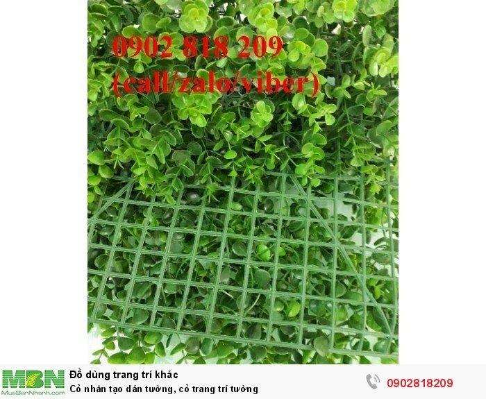 Cỏ nhân tạo dán tường, cỏ trang trí tường1
