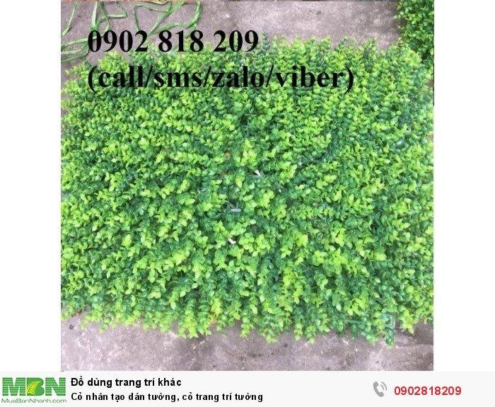 Cỏ nhân tạo dán tường, cỏ trang trí tường0