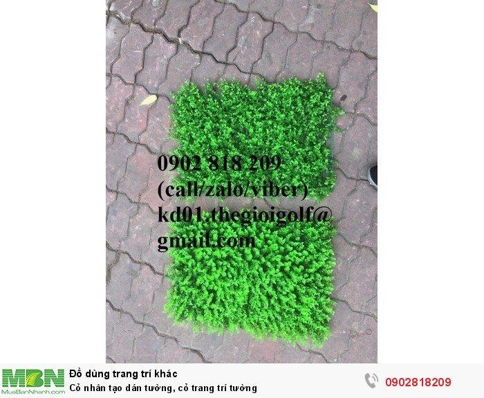 Cỏ nhân tạo dán tường, cỏ trang trí tường3