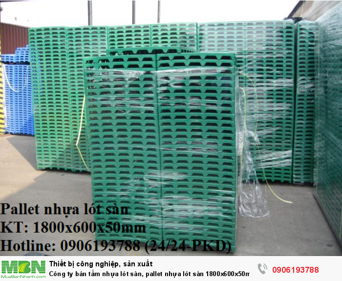 Công ty bán tấm nhựa lót sàn, pallet nhựa lót sàn 1800x600x50mm - Liên hệ: 0906193788 (24/24 - Phòng Kinh Doanh)