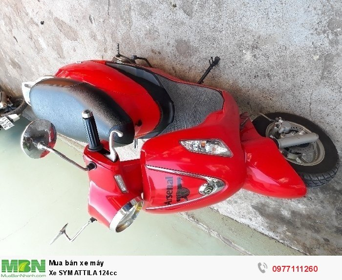 Xe SYM Attila 124cc