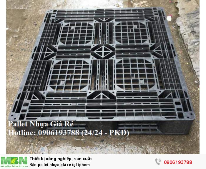 Công ty cung cấp pallet nhựa giá rẻ tại tphcm. Liên hệ: 0906193788 (24/24 - Phòng Kinh Doanh)10