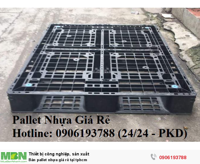 Pallet nhựa mới giá rẻ tại tphcm. Liên hệ: 0906193788 (24/24 - Phòng Kinh Doanh)16