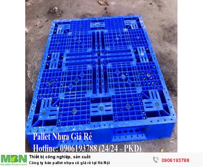Công ty bán pallet nhựa cũ giá rẻ tại Hà Nội