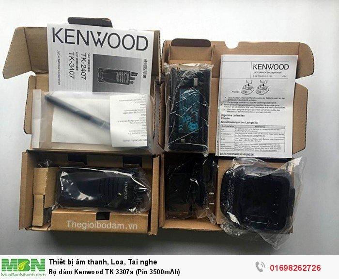 Bộ đàm Kenwood TK 3307s full box1