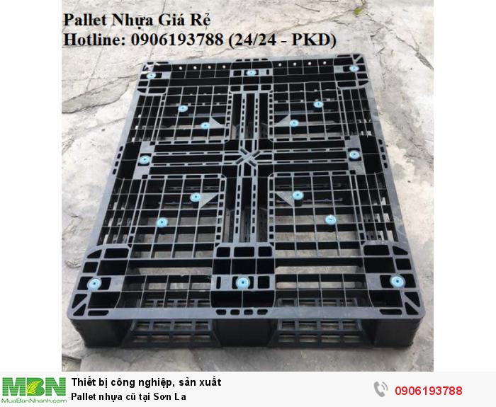 Pallet nhựa cũ tại Sơn La. Liên hệ: 0906193788 (24/24 - Phòng Kinh Doanh)