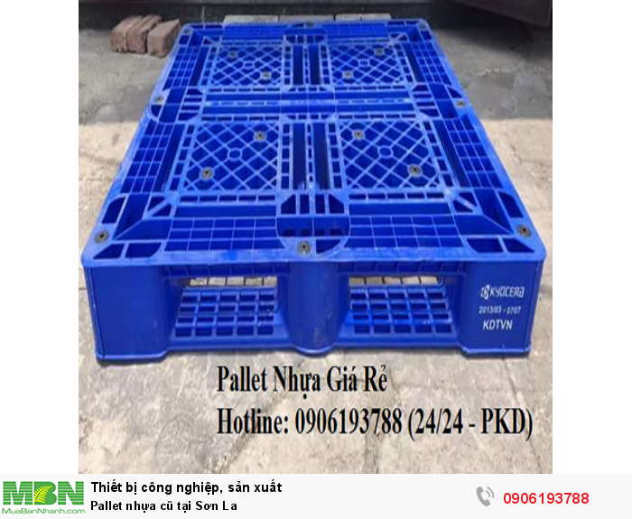 Pallet nhựa cũ tại Sơn La, miễn phí vận chuyển số lượng. Liên hệ: 0906193788 (24/24 - Phòng Kinh Doanh)