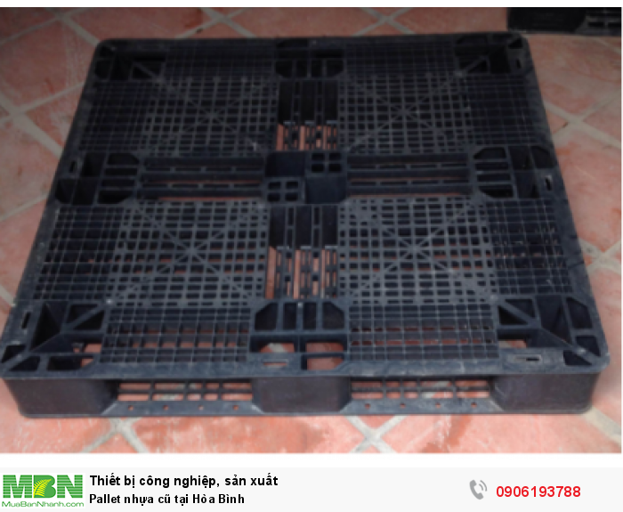 Pallet nhựa cũ tại Hòa Bình. Liên hệ: 0906193788 (24/24 - Phòng Kinh Doanh)