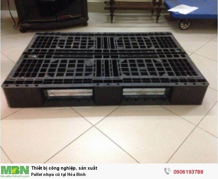 Pallet nhựa cũ tại Hòa Bình, giao hàng toàn quốc. Liên hệ: 0906193788 (24/24 - Phòng Kinh Doanh)