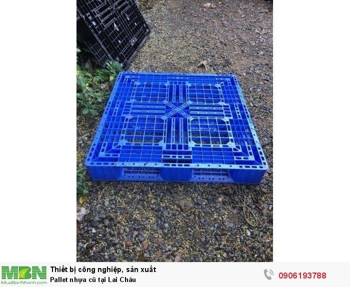 Pallet nhựa cũ tại Lai Châu. Liên hệ: 0906193788 (24/24 - Phòng Kinh Doanh)
