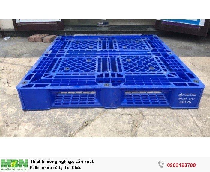 Pallet nhựa cũ tại Lai Châu