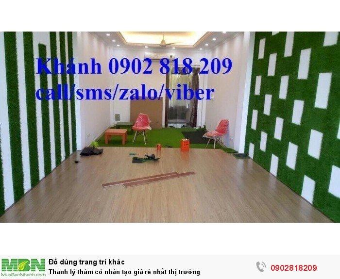 Thảm cỏ nhân tạo giá rẻ nhất thị trường0