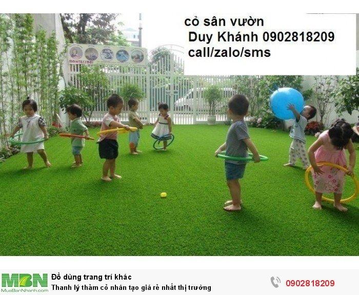Thảm cỏ nhân tạo giá rẻ nhất thị trường3