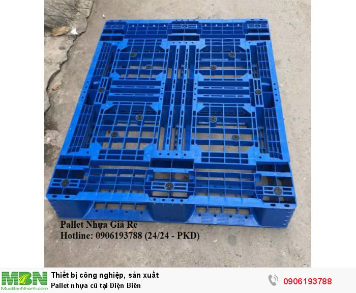 Pallet nhựa cũ tại Điện Biên, giao hàng tốc hành. Liên hệ: 0906193788 (24/24 - Phòng Kinh Doanh)