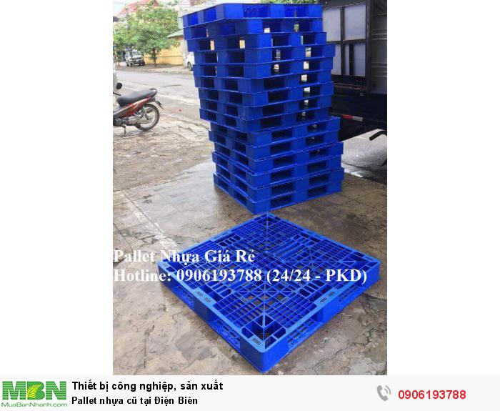 Pallet nhựa cũ tại Điện Biên, miễn phí vận chuyển số lượng lớn. Liên hệ: 0906193788 (24/24 - Phòng Kinh Doanh)
