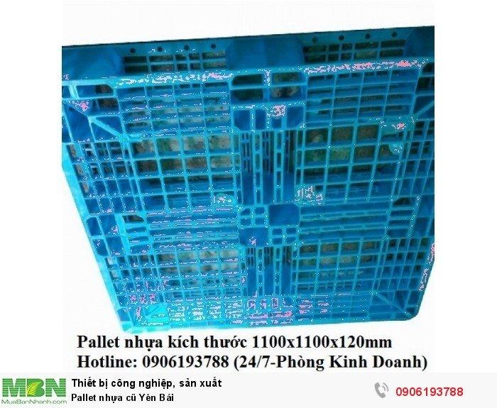 Pallet nhựa cũ Yên Bái - Liên hệ: 0906193788 (24/24 - Phòng Kinh Doanh)0