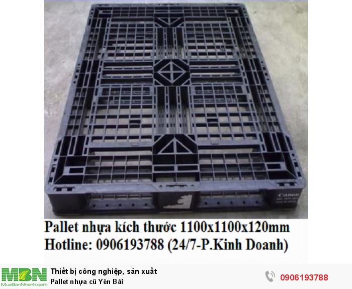 Pallet nhựa cũ Yên Bái1