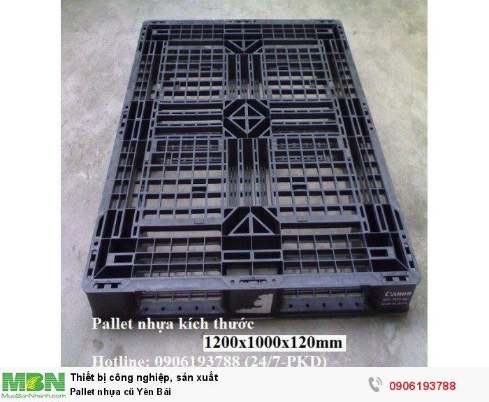 Pallet nhựa cũ Yên Bái3
