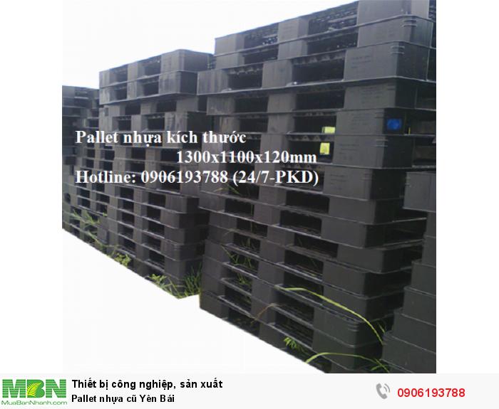 Pallet nhựa cũ Yên Bái, miễn phí vận chuyển số lượng lớn, giao hàng toàn quốc - Liên hệ: 0906193788 (24/24 - Phòng Kinh Doanh)6