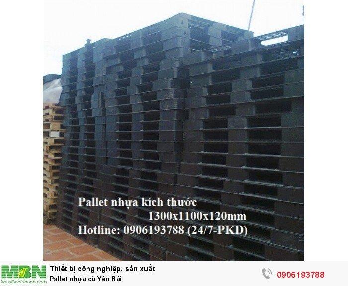 Pallet nhựa cũ Yên Bái8