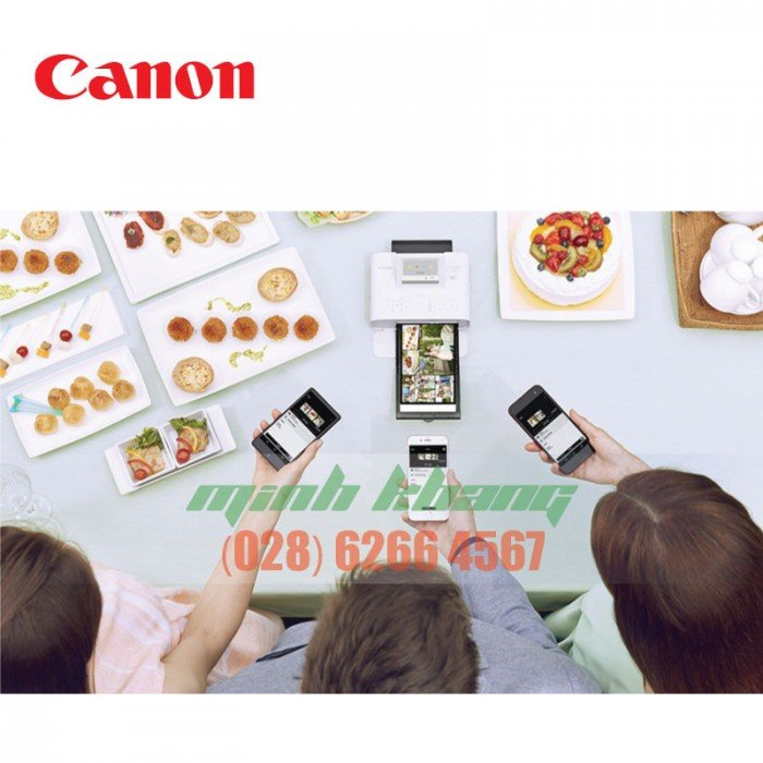 Máy in ảnh Canon Selphy CP1300 model 2018 hcm1