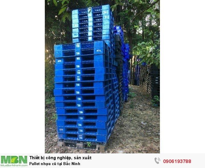 Pallet nhựa cũ tại Bắc Ninh, miễn phí vận chuyển số lượng lớn - Liên hệ: 0906193788 (24/24 - Phòng Kinh Doanh)