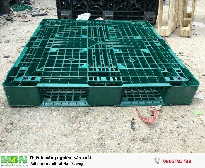 Pallet nhựa cũ tại Hải Dương - Liên hệ: 0906193788 (24/24 - Phòng Kinh Doanh)