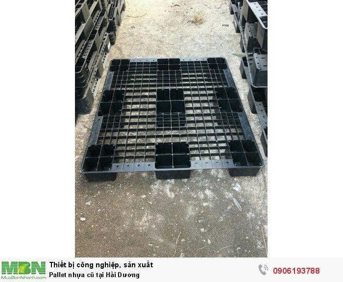 Pallet nhựa cũ tại Hải Dương, cam kết giá pallet nhựa cũ tốt nhất miền Bắc - Liên hệ: 0906193788 (24/24 - Phòng Kinh Doanh)