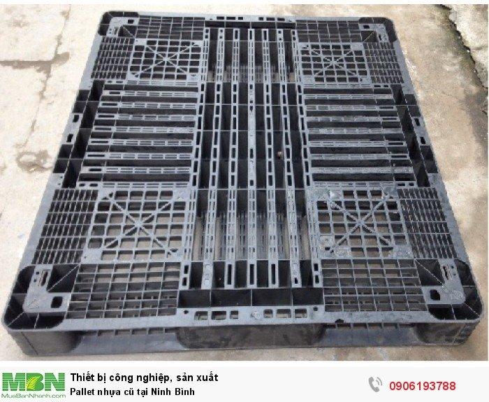 Pallet nhựa cũ tại Ninh Bình - Liên hệ: 0906193788 (24/24 - Phòng Kinh Doanh)