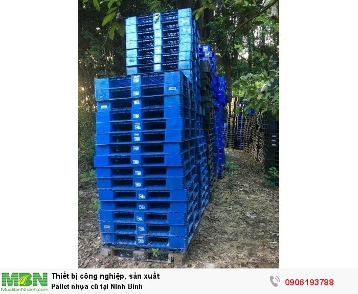 Pallet nhựa cũ tại Ninh Bình