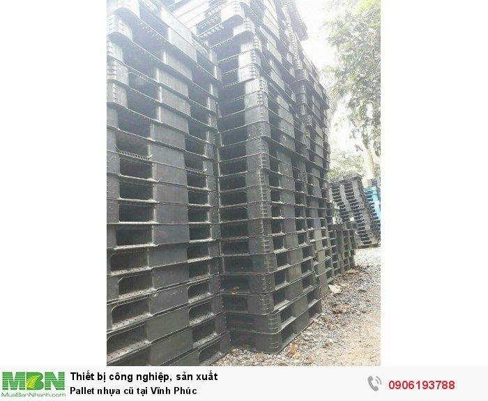 Pallet nhựa cũ tại Vĩnh Phúc
