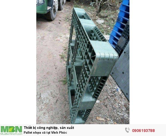Pallet nhựa cũ tại Vĩnh Phúc, giao hàng toàn quốc - Liên hệ: 0906193788 (24/24 - Phòng Kinh Doanh)