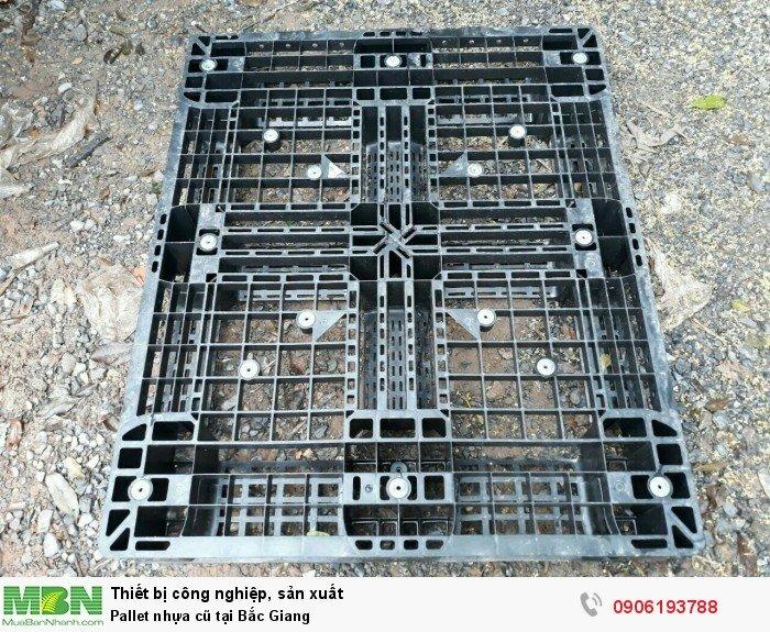 Pallet nhựa cũ tại Bắc Giang - Liên hệ: 0906193788 (24/24 - Phòng Kinh Doanh)