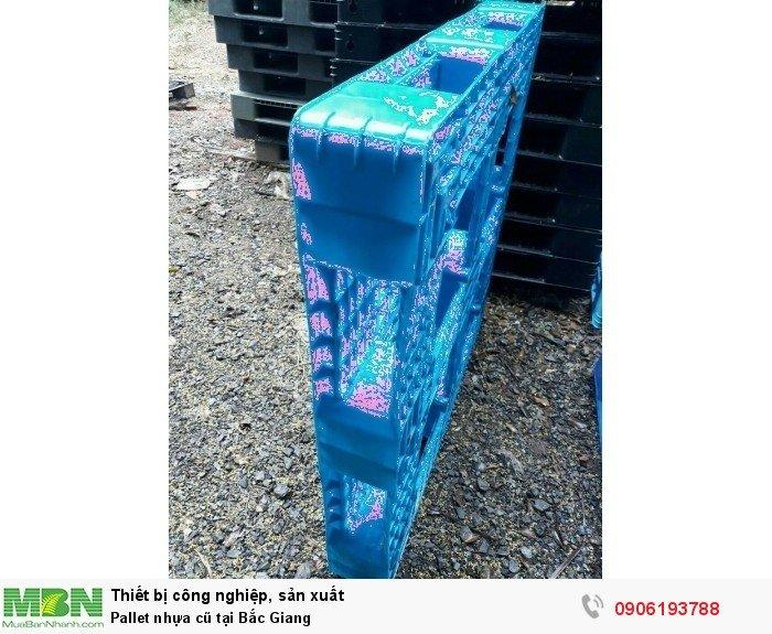 Pallet nhựa cũ tại Bắc Giang, miễn phí vận chuyển số lượng lớn - Liên hệ: 0906193788 (24/24 - Phòng Kinh Doanh)