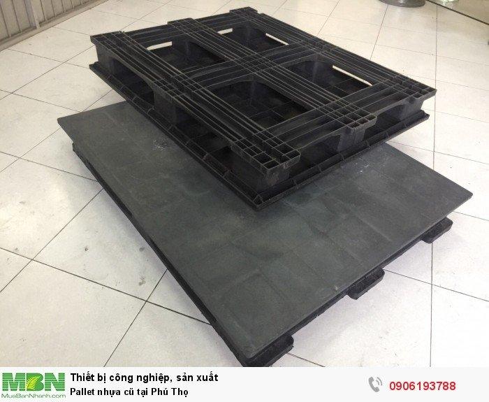 Pallet nhựa cũ tại Phú Thọ - Liên hệ: 0906193788 (24/24 - Phòng Kinh Doanh)0