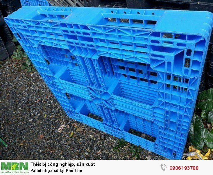 Pallet nhựa cũ tại Phú Thọ, giao hàng toàn quốc - Liên hệ: 0906193788 (24/24 - Phòng Kinh Doanh)4