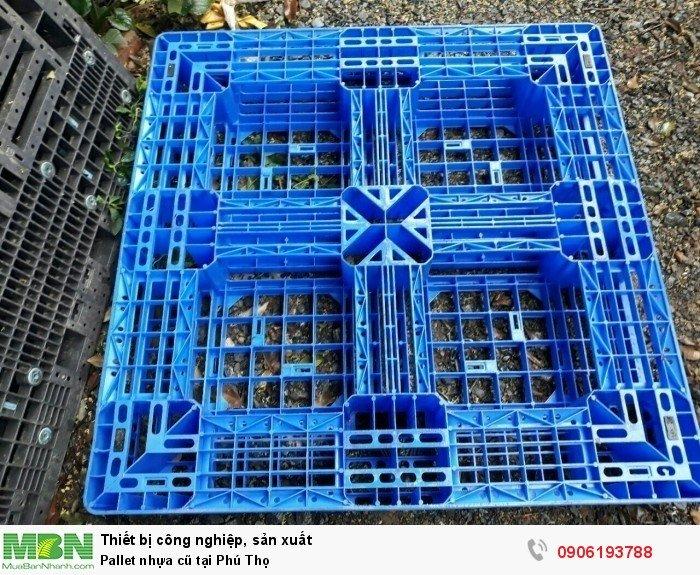 Pallet nhựa cũ tại Phú Thọ, miễn phí vận chuyển số lượng lớn - Liên hệ: 0906193788 (24/24 - Phòng Kinh Doanh)6