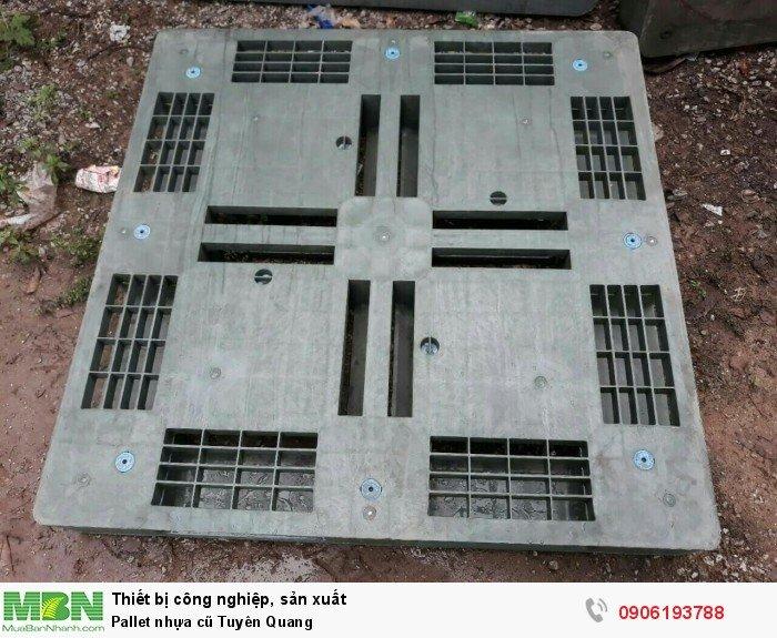 Pallet nhựa cũ Tuyên Quang - Liên hệ: 0906193788 (24/24 - Phòng Kinh Doanh)