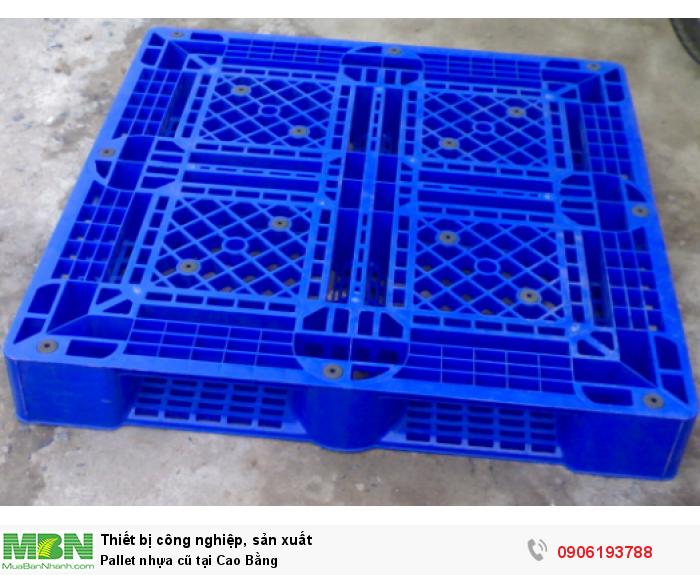 Pallet nhựa cũ tại Cao Bằng, giao hàng toàn quốc - Liên hệ: 0906193788 (24/24 - Phòng Kinh Doanh)