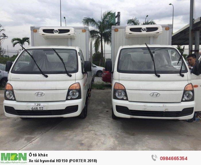 Xe tải hyundai HD150 (PORTER 2018) 1