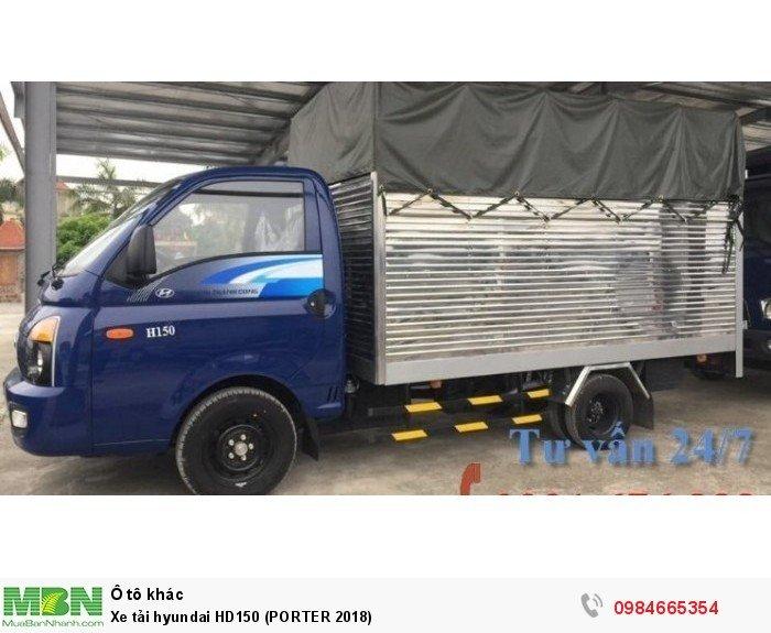 Xe tải hyundai HD150 (PORTER 2018) 0