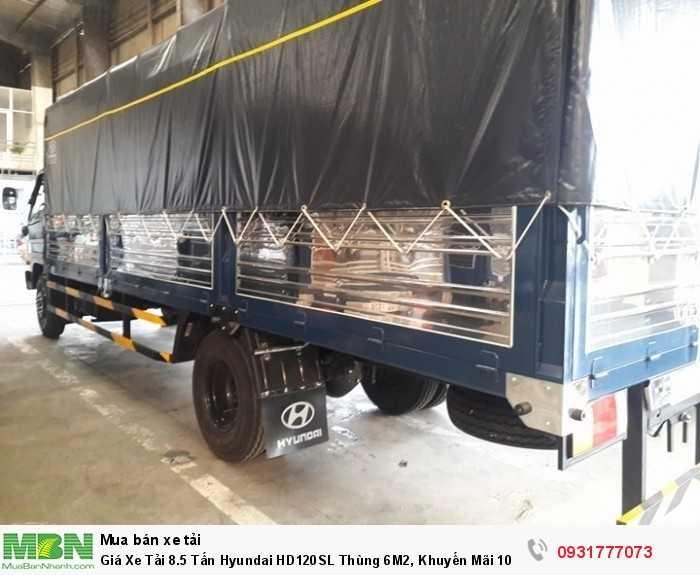 Xe Tải 8.5 tấn Hyundai HD120SL - Đóng thùng xe  theo yêu cầu khách hàng