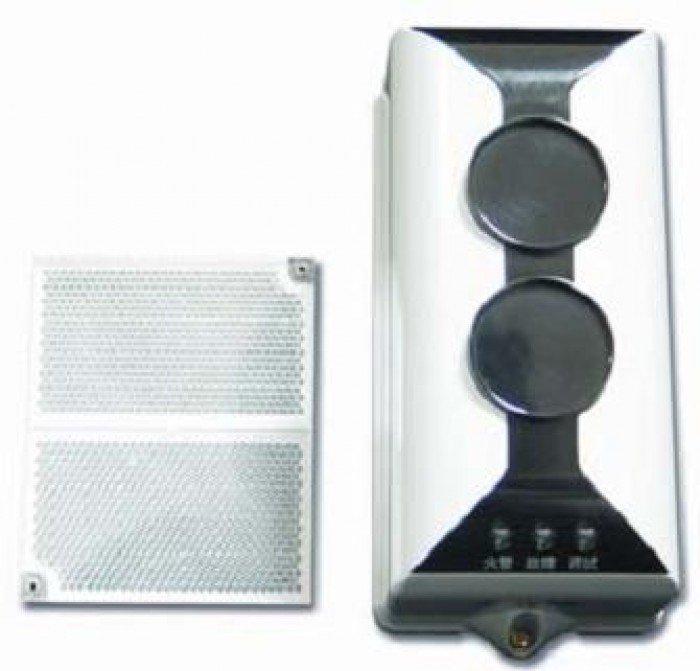 Beam dò khói và gương phản xạ gst i9105r lắp đặt cho nhà xưởng, nhà kho,...0