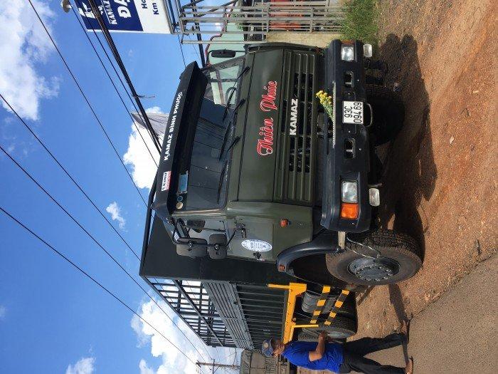 Xe tải thùng 53228 (6x6) 3 cầu chủ động | Kamaz 53328 thùng 6,7m 4